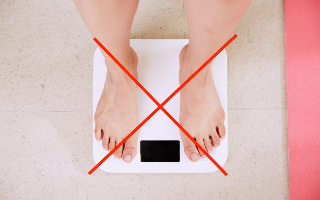 Ditching the scale for a healthy lifestyle